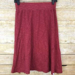 Horny Toad Size XS Skirt Red Cotton Tencel yoga